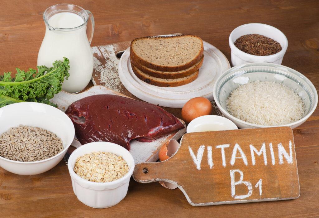produkty bogate w witaminę b1